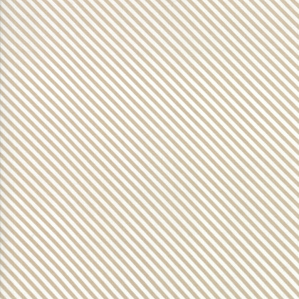 Bloomington Taupe Candy Stripes By Lella Boutique for Moda Fabric