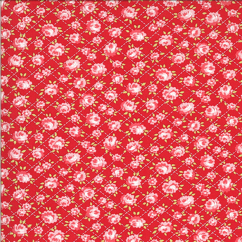 Shine On  Roses Red by Bonnie and Camille for Moda Fabrics