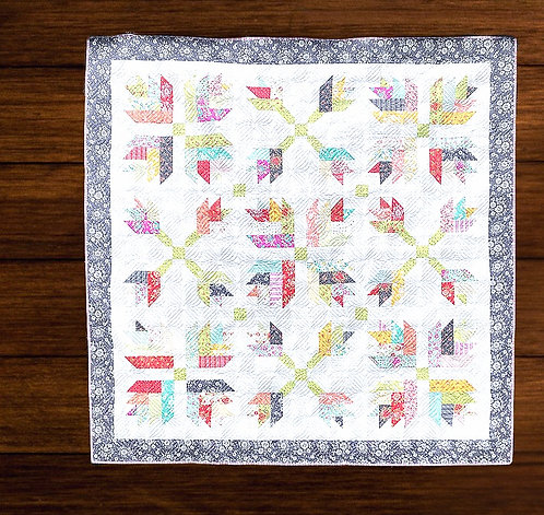 Dandelion Gravy Quilt Kit featuring Canning Day Collection by Corey Yoder