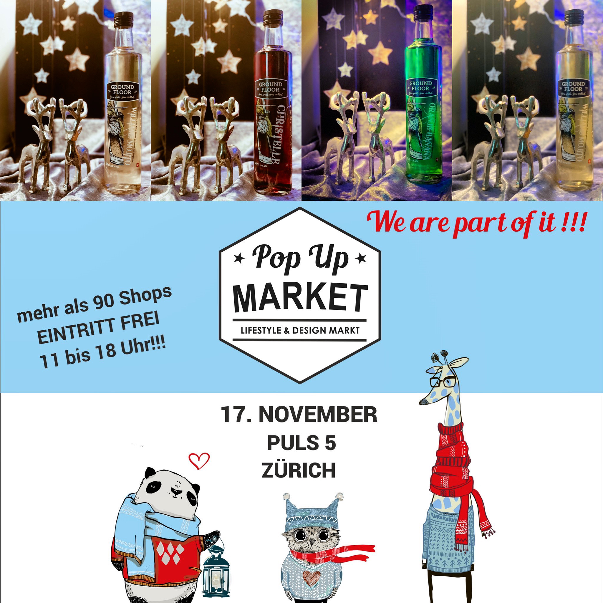 Pop Up Market 2019