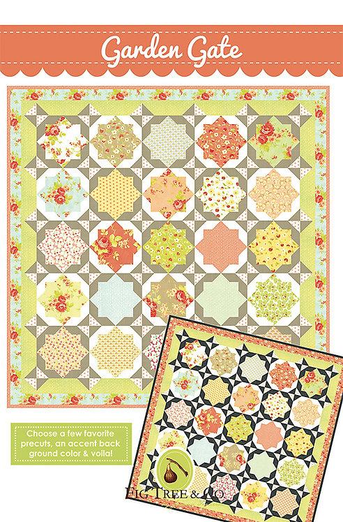 Garden Gate Quilt Pattern Fig Tree Quilts