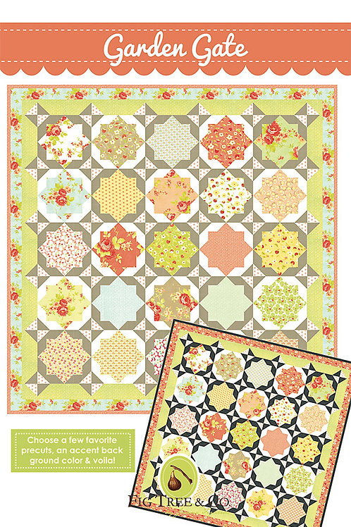 Garden Gate Quilt Pattern Fig Tree Quilts
