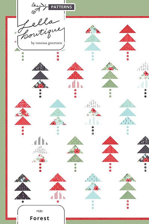 Forest Quilt Pattern Lella Boutique #LB-181