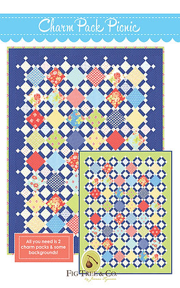 Charm Pack Picnic Quilt Pattern