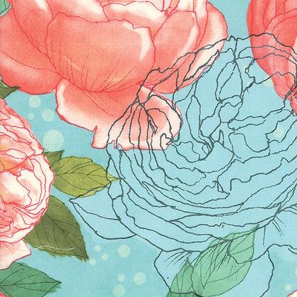 Abby Rose Seafoam by Robin Perkins