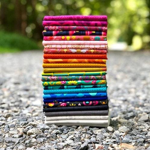 Handiwork One Yard Bundle by Alison Glass for Andover Fabrics