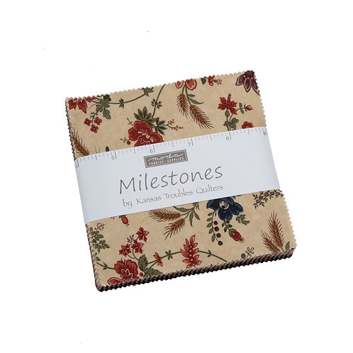 Milestones Mini Charm Pack By Kansas Troubles Quilters