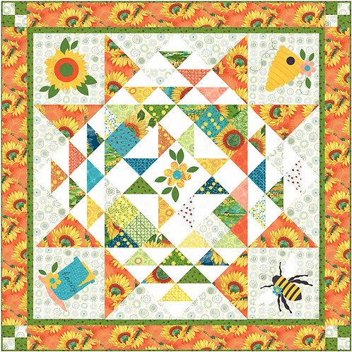 Bee My Honey Quilt Pattern by The Quilt Factory