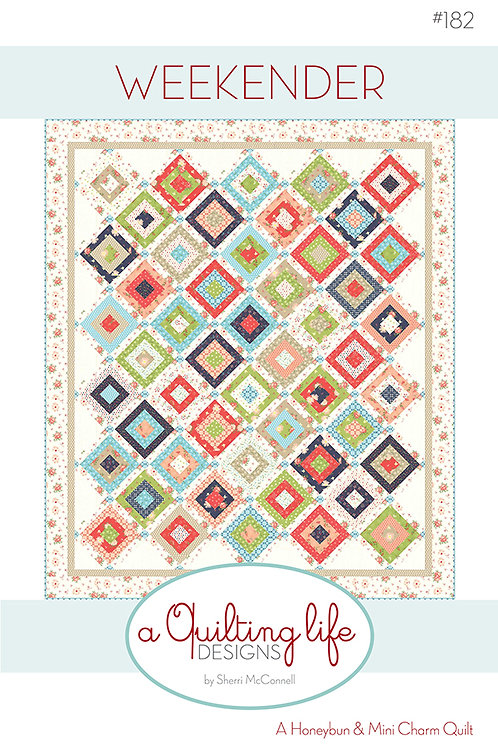 Weekender Quilt Kit  Featuring Harper's Garden by Sherri and Chelsi