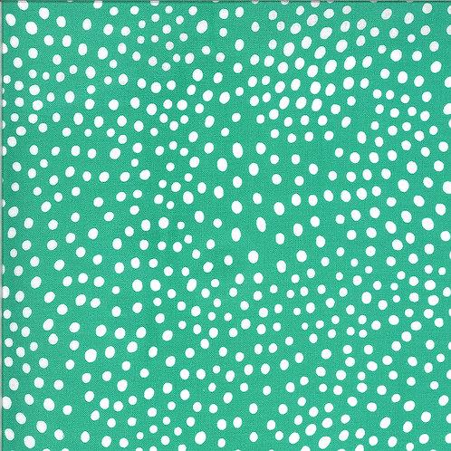 Zoology | Peacock Movement Dots by Gingiber For Moda Fabrics