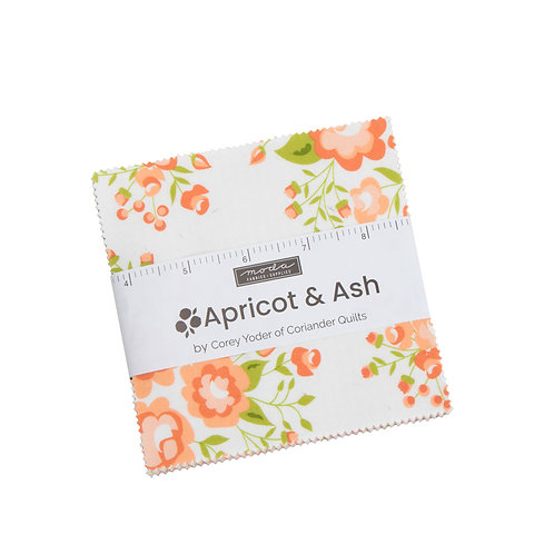 Apricot & Ash Charm Pack  By Corey Yoder for Moda Fabrics