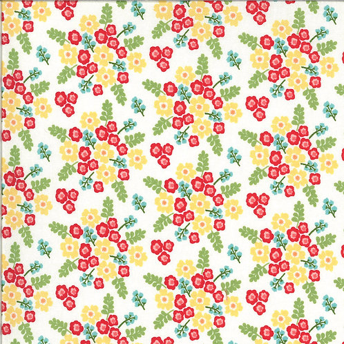 Homestead Wildflowers Multicolor By April Rosenthal For Moda Fabrics