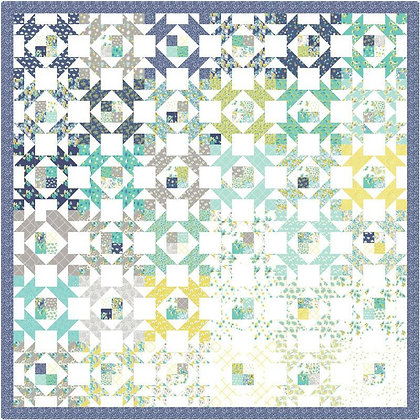 Canopy Quilt Kit Featuring Flour Garden Collection By Linzee Kull McCray