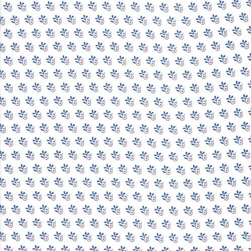 Catalina Cloud and Sapphire Fireworks Yardage By Fig Tree Quilts