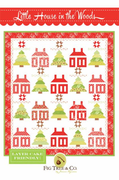 Little House In The Woods Quilt Pattern by Fig Tree Quilts