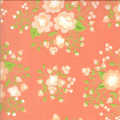 Apricot & Ash Coral  By Corey Yoder for Moda Fabrics