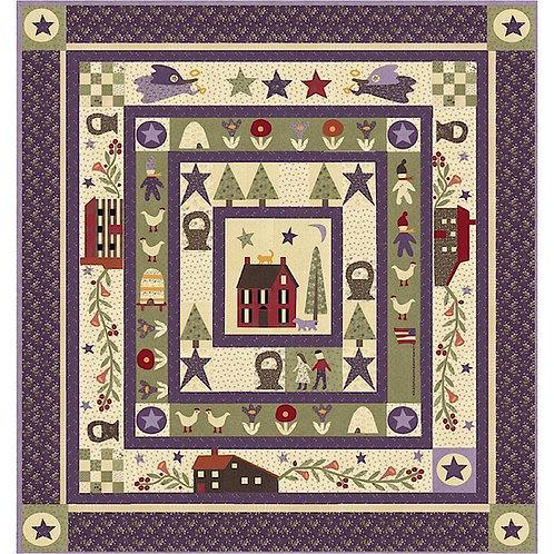 Jan & Peps Marvelous Adv 12 Mo* Quilt Kit By Jan Petek