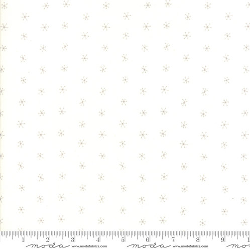 Merriment Snow and Chill Snowflakes Yardage