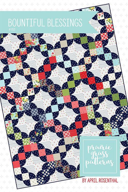 Bountiful Blessings Quilt Pattern Prairie Grass Patterns