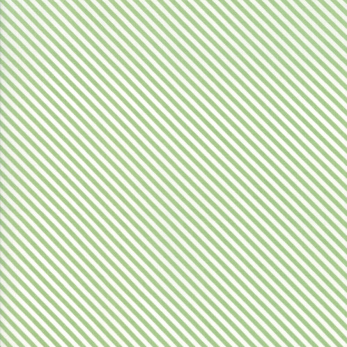 Bloomington Sage Candy Stripes By Lella Boutique for Moda Fabric