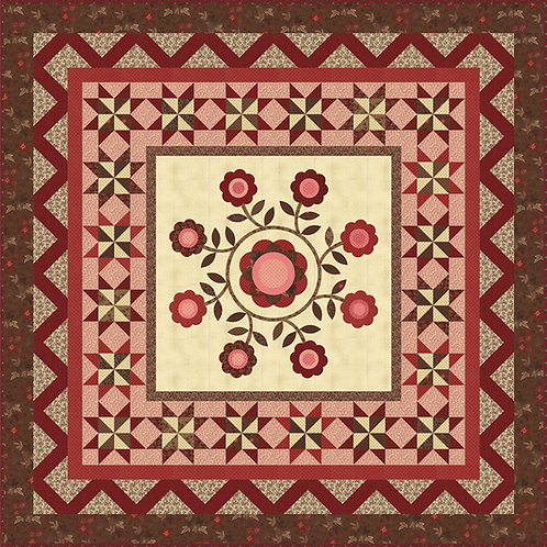 Gather Around Quilt Kit Featuring Harriet's Handwork by Betsy Chutchian