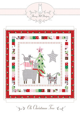 Oh Christmas Tree Quilt Pattern  Bunny Hill Designs
