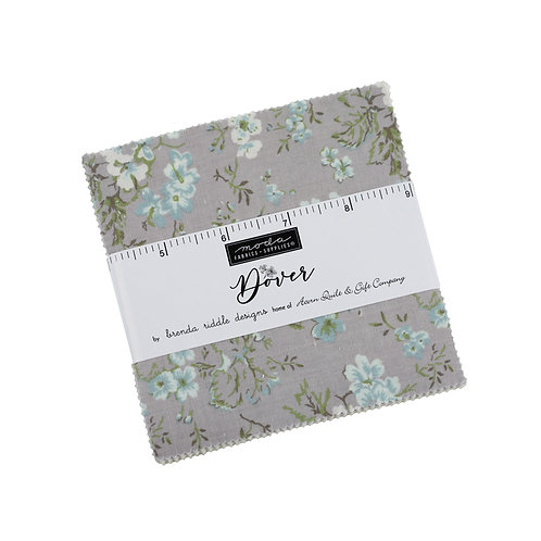 Dover Charm Pack By Brenda Riddle Designs for Moda Fabrics