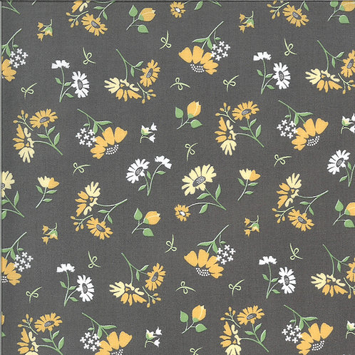 Spring Brook | Daisies Slate by Corey Yoder for Moda Fabrics