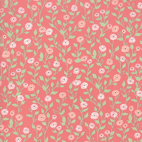 Bloomington Rose Pocket Full Of Posies by Lella Boutique for Moda F