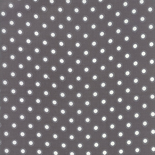 Bloomington Charcoal Parisian Dot By Lella Boutique for Moda Fabric
