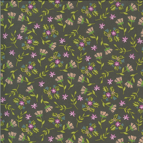 Balboa  Primrose Charcoal By Sherri and Chelsi for Moda Fabrics