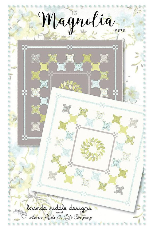 Magnolia Quilt Pattern by Brenda Riddle Designs