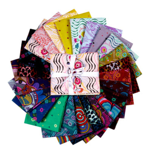 FreeSpirit Tambourine -24 pc Fat Quarter Fabric