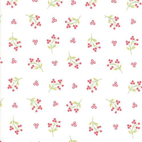 Holliberry   Snow Sprigs By Corey Yoder for Moda Fabrics