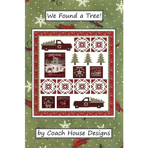 Time to Decorate Quilt Pattern by Coach House Designs