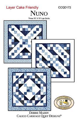 Nuno Quilt Pattern by Debbie Maddy