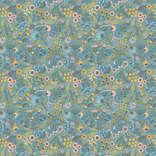 Meadow Blue from Wandering collection from Lori Woods
