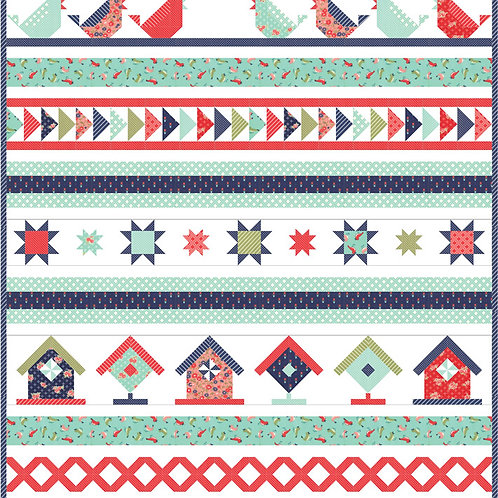 Early Bird Quilt it by Bonnie & Camille