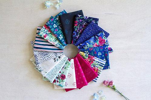 Aquarelle Fat Quarter Bundle By Katrina Roccella for Art Gallery Fabrics