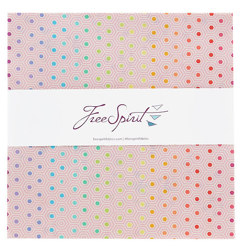 Tula's True Colors   Layer Cake By Tula Pink for FreeSpirit Fabrics