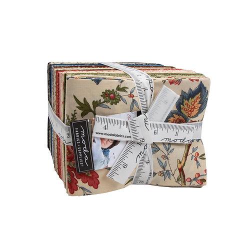 Elinores Endeavor Fat Quarter Bundle By Betsy Chutchian For Moda Fabrics