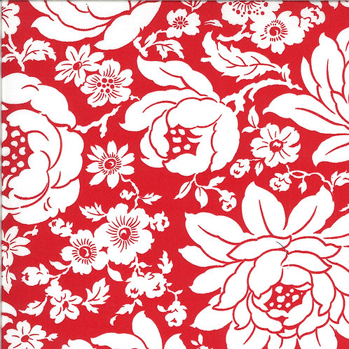 Shine On  Mums Red by Bonnie and Camille for Moda Fabrics