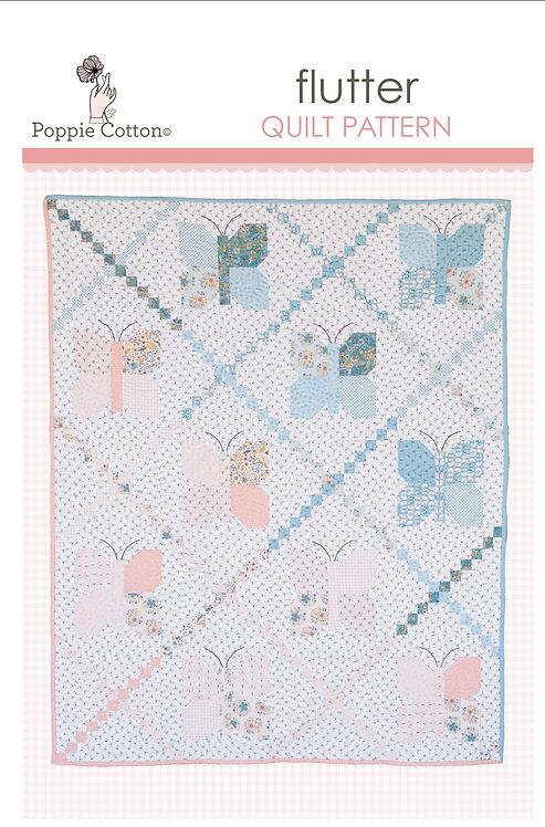 Flutter Quilt Pattern By Poppie Cotton