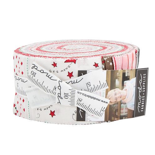 Merry Merry Snow Days Jelly Roll Reservation  Bunny Hill Designs