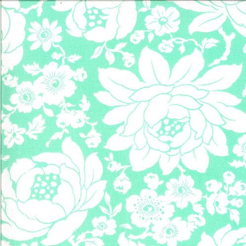Shine On  Mums Aqua by Bonnie and Camille for Moda Fabrics
