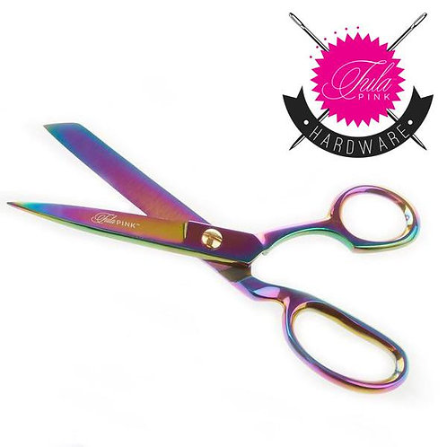 """Tula Pink Hardware 8"""" Fabric Shears - RIGHT HANDED Scissors"""