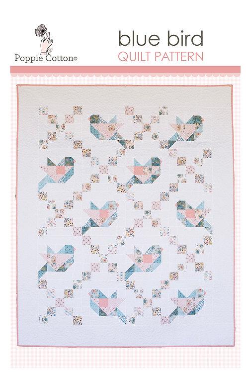 Blue Bird Quilt Pattern By Poppie Cotton