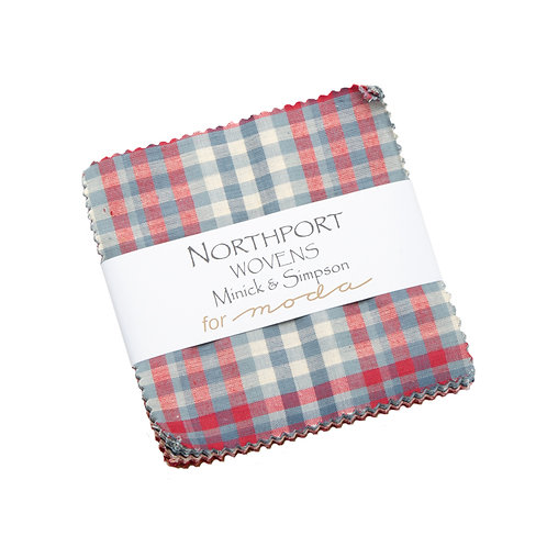 Northport Silky Woven's Charm Pack by Minick & Simpson