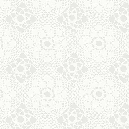 Handiwork Cloud Crochet Yardage by Alison Glass for Andover Fabrics