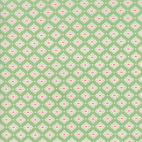 Bloomington Sage Teatime By Lella Boutique for Moda Fabric